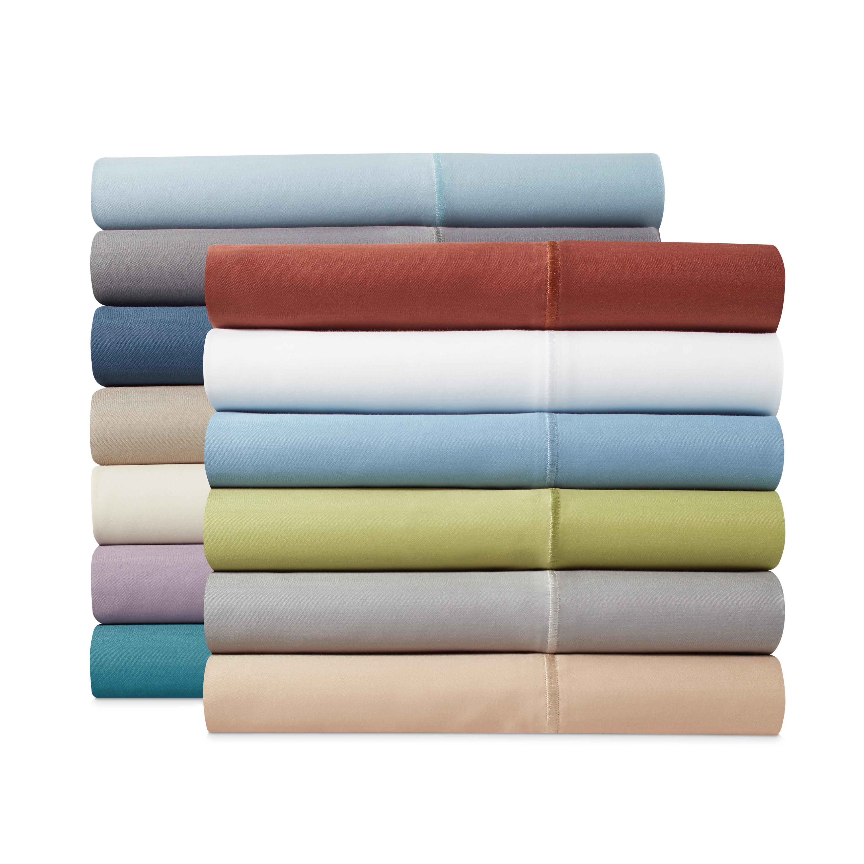 1000 TC Deep Pocket 4 PC Sheet Set Egyptian Cotton All Sizes Moss Striped