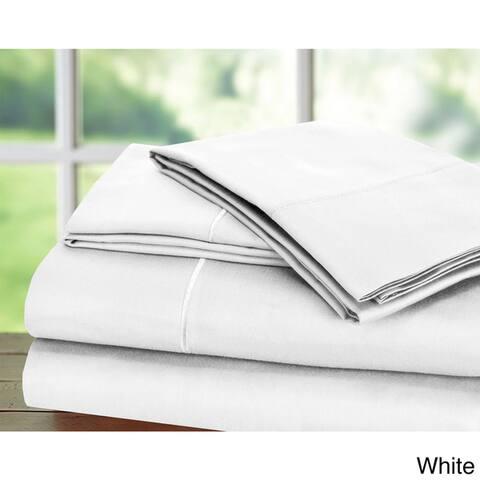 Luxury Sateen Cotton Blend 1000 Thread Count Deep Pocket Bed Sheet Set