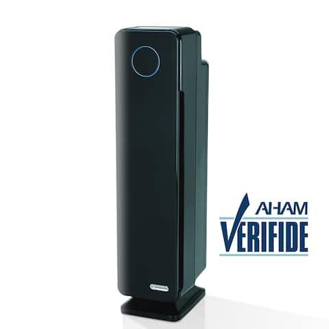 GermGuardian AC5350B Elite 28-inch 4-in-1 Digital HEPA Tower with UV-C Air Purifier