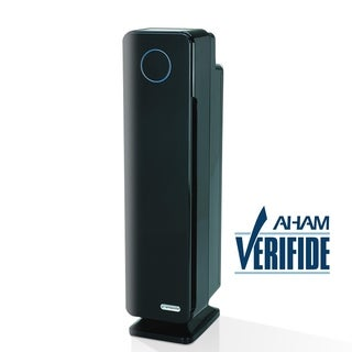 GermGuardian AC5350B Elite 28-inch 4-in-1 Digital HEPA Tower with UV-C Air Purifier
