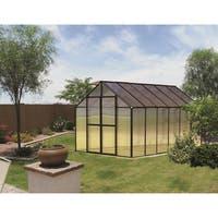 Monticello (8x12) Black Premium Greenhouse