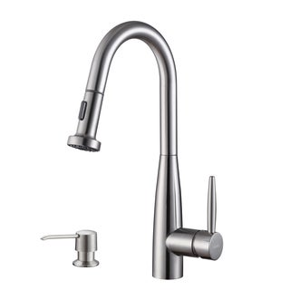 Ruvati RVF1229K1ST Stainless Steel Single-Handle Faucet