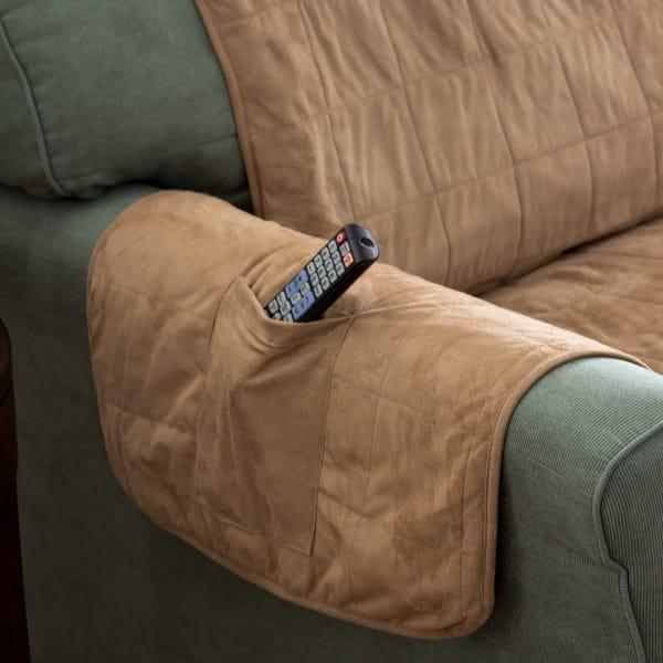 Cool Shop Serta Heated Warming Loveseat Furniture Protector Short Links Chair Design For Home Short Linksinfo
