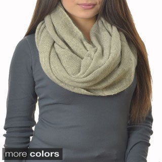 LA77 Solid Colored Infinity Scarf