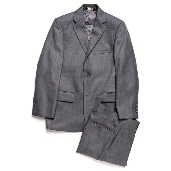 Caravelli Junior Boys' Grey 2-piece Suit