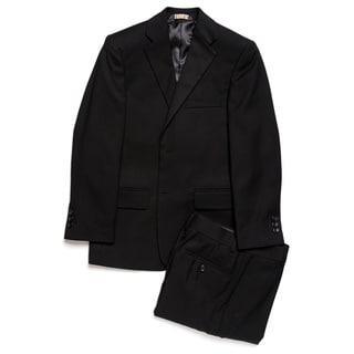 Caravelli Junior Boys' Black 2-piece Suit
