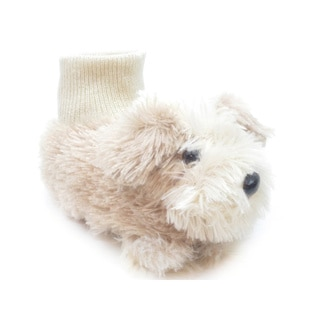 Blue Infant-size 'I-Momo Ruff' Puppy Slippers