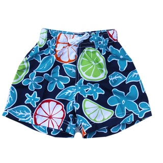 Azul Swimwear 'Citrus' Boys' Swim Shorts
