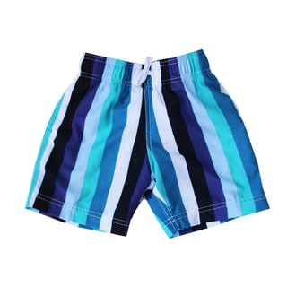 Azul Swimwear Boys 'Line Up!' Striped Swim Shorts
