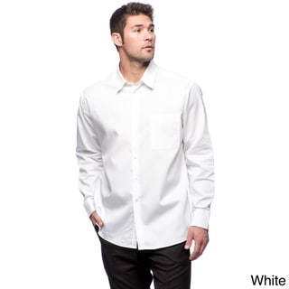 Calvin Klein Men's Pure-finish Cotton Long Sleeve Shirt
