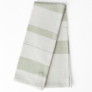 Handmade Sage Kitchen Towel (India)