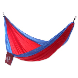 Handmade Hang Ten Parachute 'Comet for HANG TEN' Hammock (Single) (Indonesia)