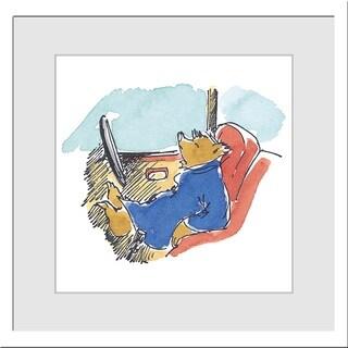 Peggy Fortnum 'Paddington Bear Sleepy Driver' Giclee