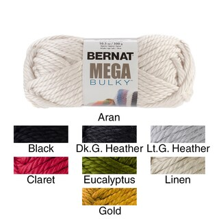 Mega Bulky Yarn (Option: Gold)
