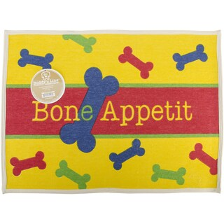 "Fashion Forward Cotton Mat 19""X25.5""-Bone Appetit"
