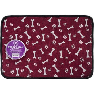 Buddy's Line Signature Bones 'n Paws Pet Placemat