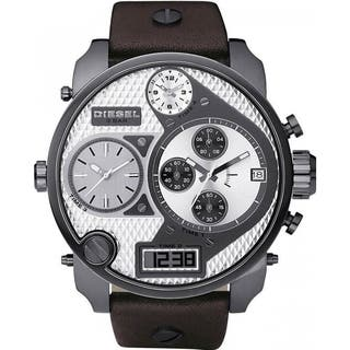 Diesel Men's DZ7126 'Mr Daddy' Oversized Chronograph Leather Watch|https://ak1.ostkcdn.com/images/products/9556466/P16738137.jpg?impolicy=medium