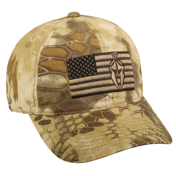 Kryptek Highlander Tonal American Flag Hat
