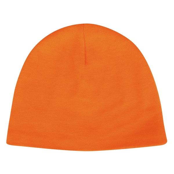 Outdoor Cap Company Orange Knit Beanie Hat