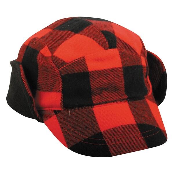Outdoor Cap Company Plaid Earflap Hat
