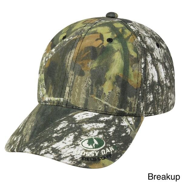 Outdoor Cap Company Mossy Oak Insignia Hook and Loop Hat