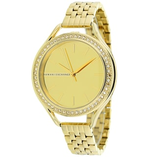 Armani Exchange Women's AX4255 Classic Goldtone Watch