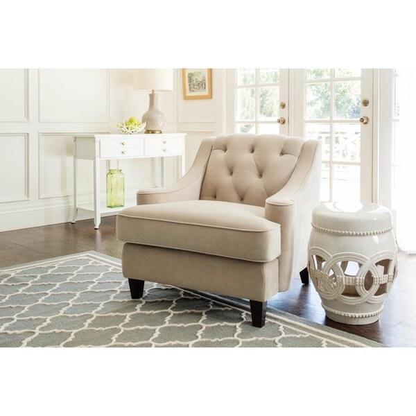 Abbyson Claridge Beige Velvet Tufted Armchair Free  : Abbyson Living Claridge Beige Velvet Fabric Tufted Armchair a9e56e18 e039 4df1 b800 e05f8872e0a9600 from www.overstock.com size 600 x 600 jpeg 44kB