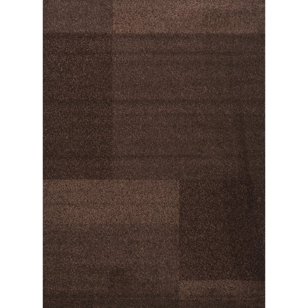 Brown Texture Estella Turkish Area Rug