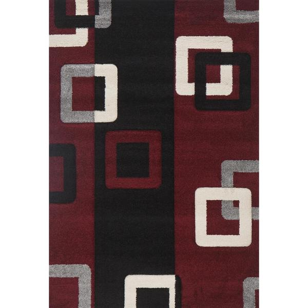Red Link Milano Turkish Area Rug - 8' x 11'