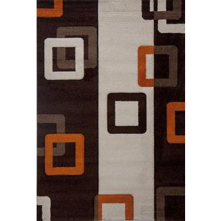 Rust Link Milano Turkish Area Rug (8' x 11')