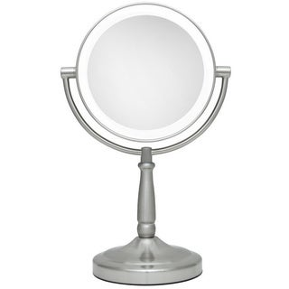 Zadro 9-inch Next Generation LED Cordless Double-sided Round Vanity Mirror