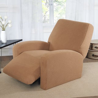 Basketweave Large Recliner Slipcover