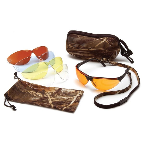 Ducks Unlimited Shooting Eyewear Kit with 5-interchangeable Lens
