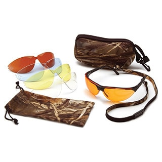 Ducks Unlimited Shooting Eyewear Kit with 5-interchangeable Lens