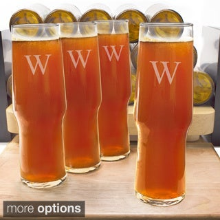 Personalized Craft Beer Pilsners (Set of 4)