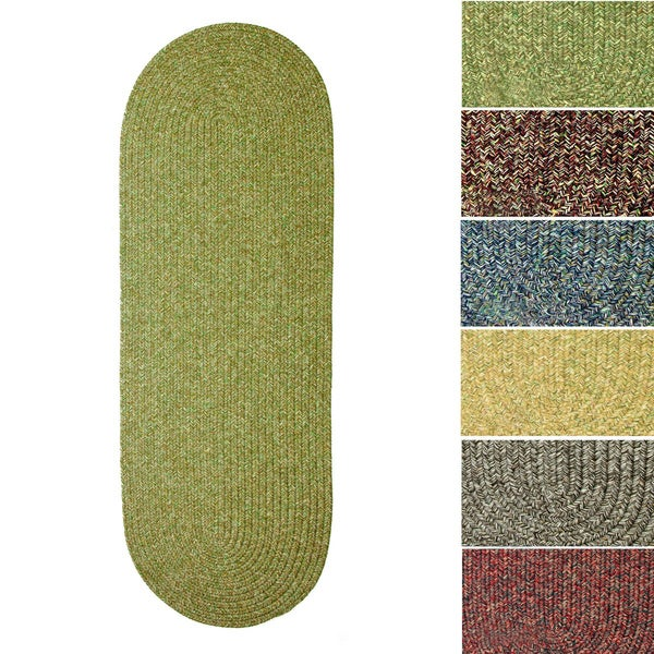 Shop Rhody Rug Sandi Indoor/ Outdoor Reversible Braided