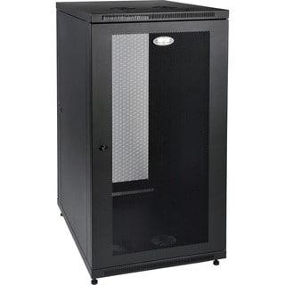 """Tripp Lite 24U Rack Enclosure Server Cabinet 33"""" Deep w/ Doors & Side"""