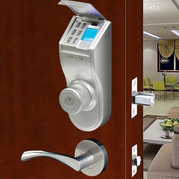 iTouchless Bio-Matic Fingerprint Door Lock, Right Handle ...