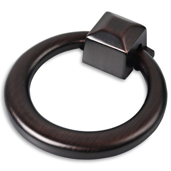 southern hills oil rubbed bronze cabinet drawer ring pull set of 25