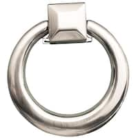 Southern HIlls Brushed Nickel Cabinet Drawer Ring Pull (Pack of 10)