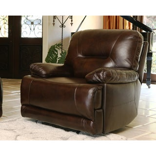 ABBYSON LIVING Breckinridge Top Grain Leather Power Recliner