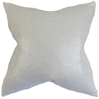 Berquist Pearl Solid Feather Filled Throw Pillow