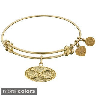 Angelica Infinity Charm Bangle Fashion Charm Bangle Bracelet