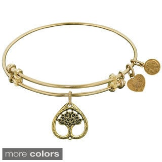 Angelica Tree Of Life Fashion Charm Bangle Bracelet