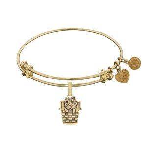 Angelica Wizard Of Oz Toto In A Basket Charm Bangle Bracelet