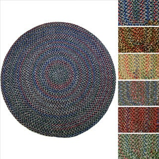 Katie Indoor/ Outdoor Reversible Braided Rug by Rhody Rug (8' Round)