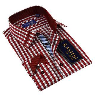 Rashbi Men's Red Dress Shirt https://ak1.ostkcdn.com/images/products/9558235/P16739799.jpg?impolicy=medium