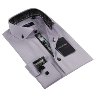 Max Lauren Men's Purple Dress Shirt