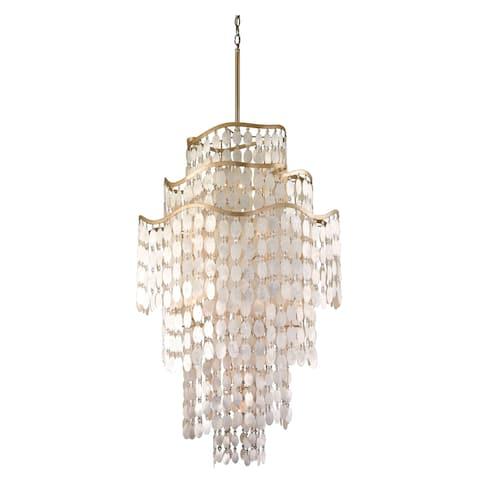 Corbett Lighting Dolce 19-light Pendant - Champagne