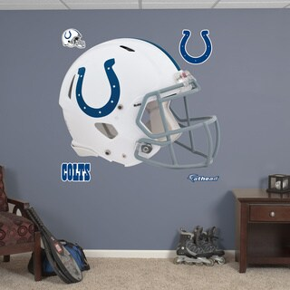 Fathead Indianapolis Colts Helmet Wall Decals